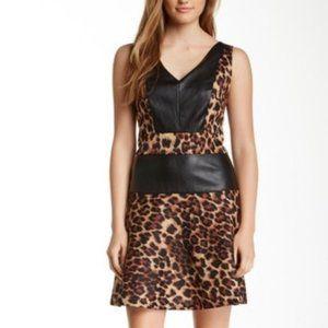 W118by Walter Baker cheetah print Mini dress  XS